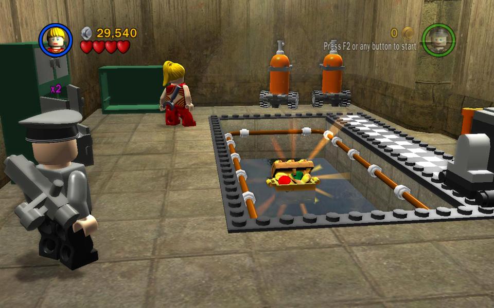 The Last Crusade Level 3 Motorcycle Escape Lego Indiana