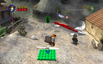The Last Crusade Level 4 Trouble In The Sky Lego