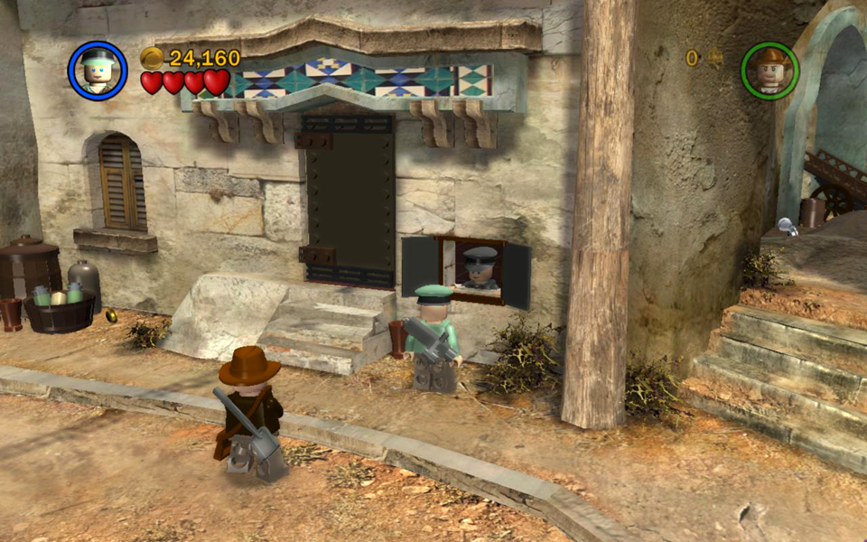 Raiders Of The Lost Ark Level 3 City Of Danger Lego